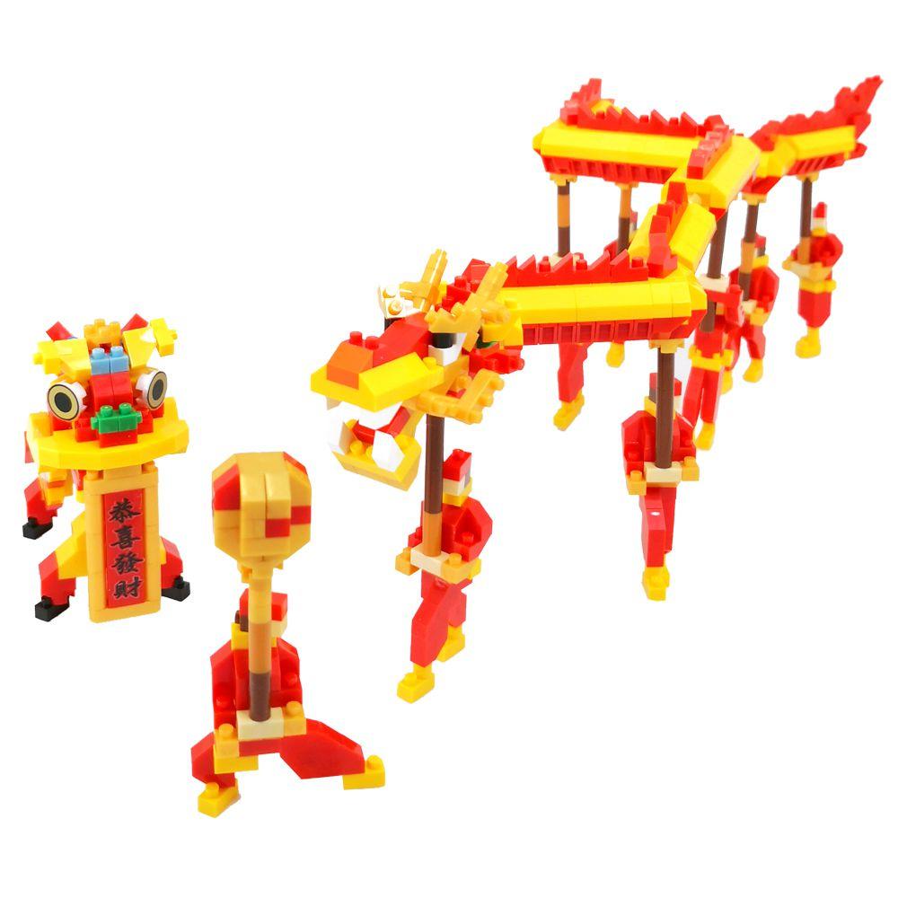 中國風舞龍醒獅
